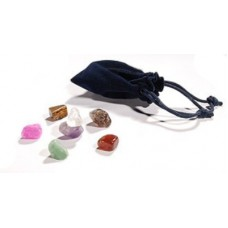 Set of chakra stones for stone therapy UMS-7TC