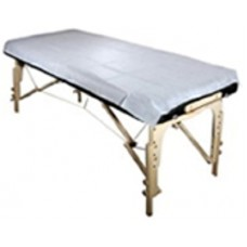 Set of disposable water-repellent covers for massage table foto