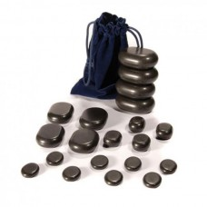 Set of basalt stones for stone therapy UMS-20TC