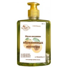 Massage oil from apricot kernels, 500 ml foto