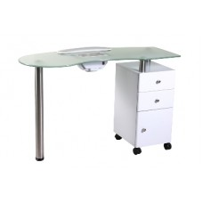 Manicure table with extractor 006B